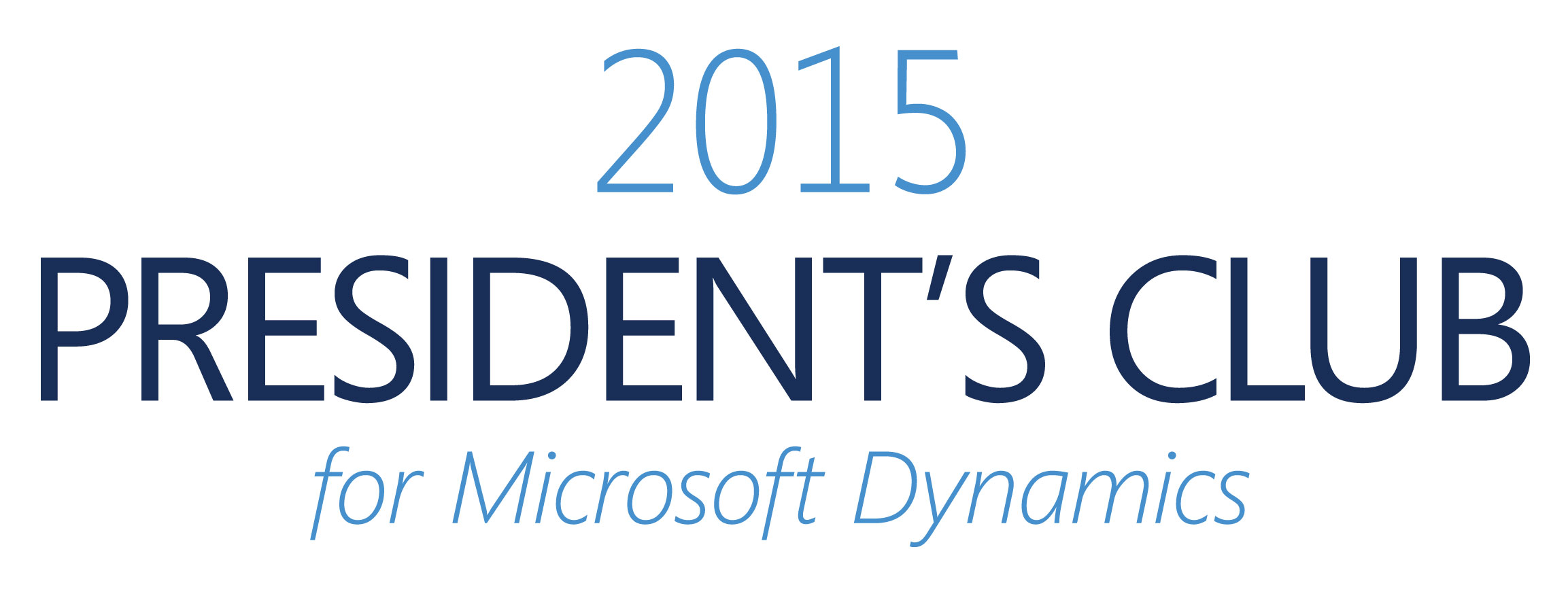 2015 President's Club for Microsoft Dynamics