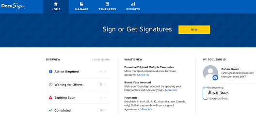 DocuSign Pic 1
