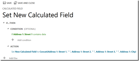 crm - calculated fields